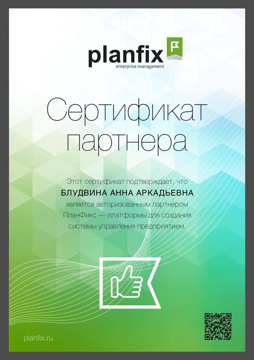 Внедрение системы управления предприятием ПланФикс
